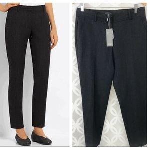 Eileen Fisher Wool & Linen Tapered Ankle Pants NWT